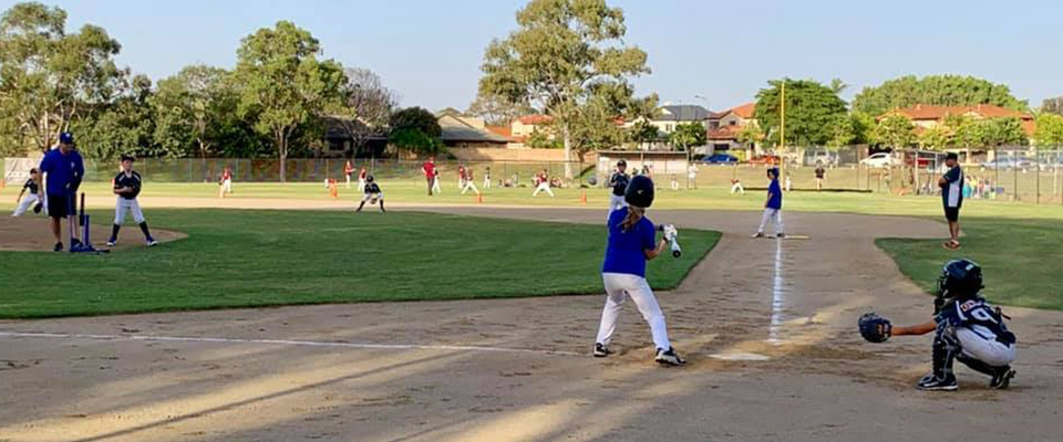 Junior T-ball and Baseball at Surfers Paradise Baseball Club