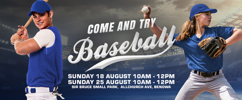 Come and try baseball 2019