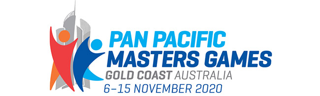Pan Pacs Masters Games logo