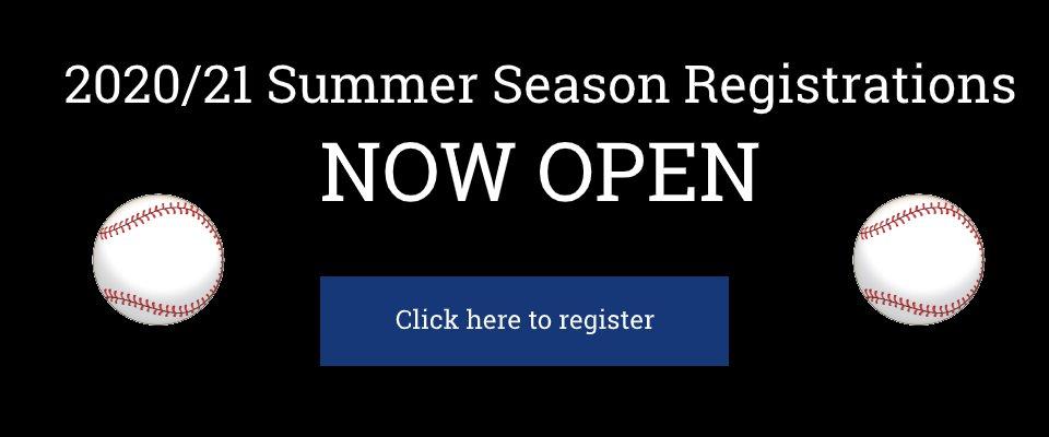 Register for the 2020/21 Summer Season